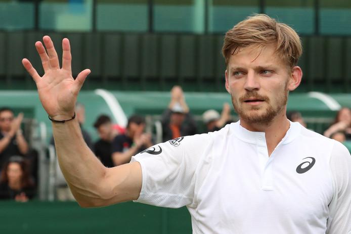 David Goffin a soigné son entrée en matière à Wimbledon. Le Liégeois s'est imposé face à Bradley Klahn (6-4, 6-4, 6-4).