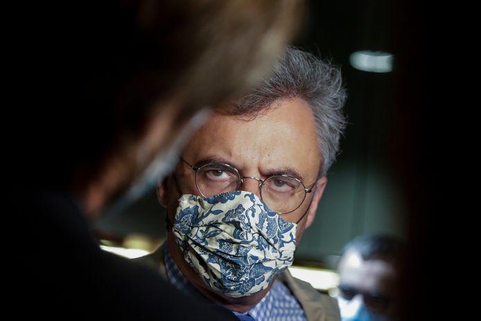 Partijvoorzitter Joachim Coens.