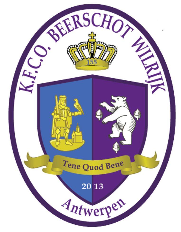 Het huidige logo van Beerschot-Wilrijk.