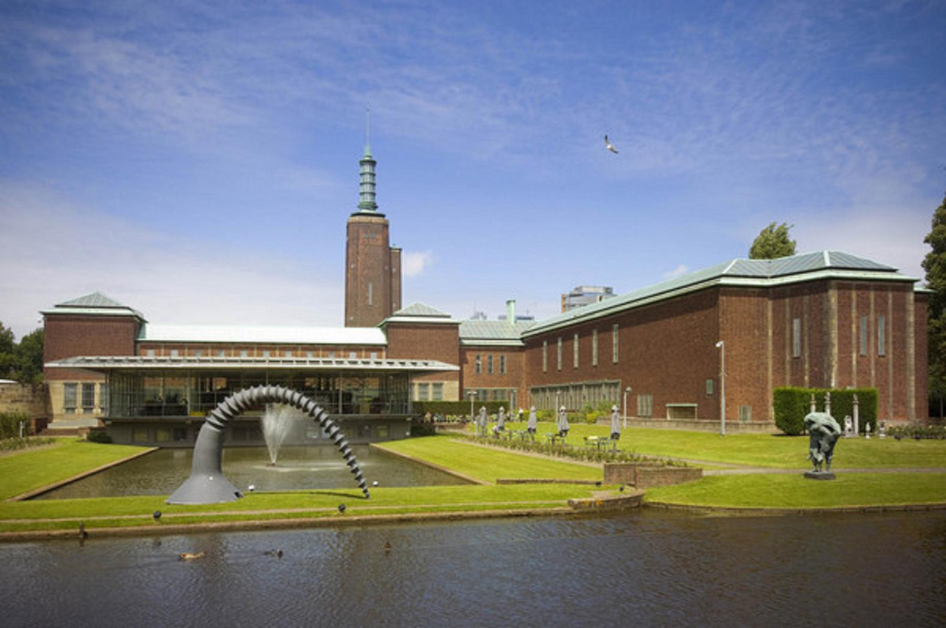 Renovating museum building - Museum Boijmans Van Beuningen