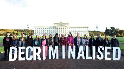 Recht op abortus en homohuwelijk legaal in Noord-Ierland