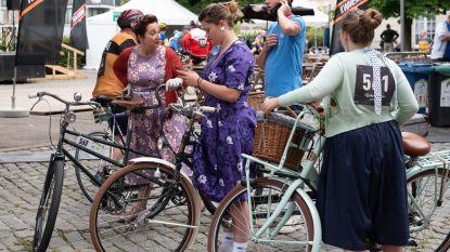 VIDEO. Met meer dan vijfhonderd aan de start van nostalgische Retro Ronde van Vlaanderen in Oudenaarde