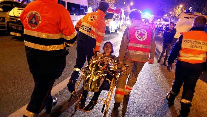 Evacuatie van de Bataclan