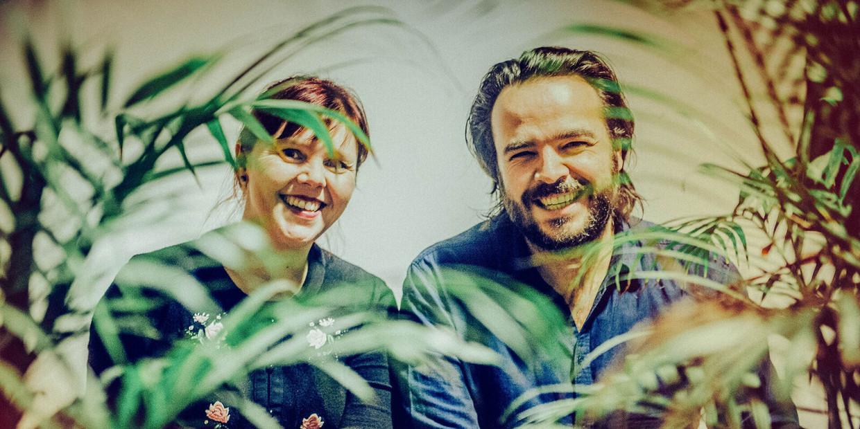 Ayco Duyster en Eppo Janssen Beeld Studio Brussel