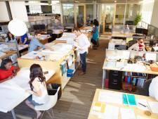 Meeste bedrijfsartsen willen de kantoortuin afschaffen