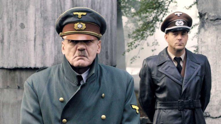 Bruno Ganz in 'Der Untergang'. Beeld