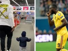 """Lukaku publie pour la première fois une photo avec son fils: """"Je t'aime"""""""