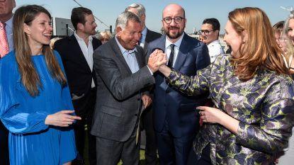 Alain Courtois gaat voluit voor Brusselse burgemeesterssjerp met Els Ampe op twee