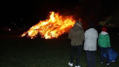 Kerstboomverbranding met recordaantal kerstbomen