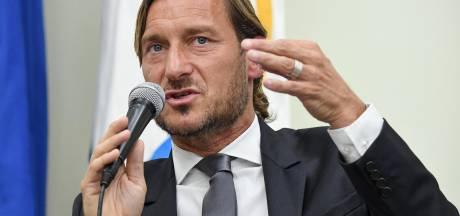 L'énorme coup de gueule de Totti avant de claquer la porte de la Roma