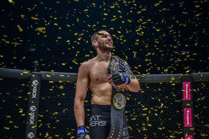 Reinier de Ridder werd eind oktober wereldkampioen MMA bij de Aziatische vechtsportorganisatie ONE Championship.