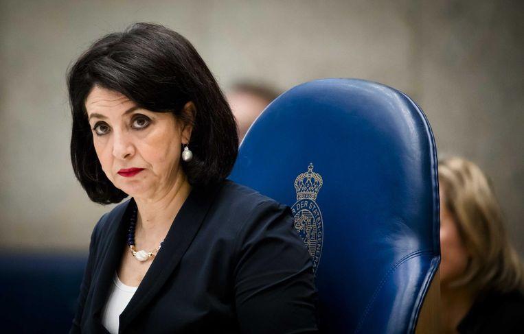 Kamervoorzitter Khadija Arib. Beeld anp