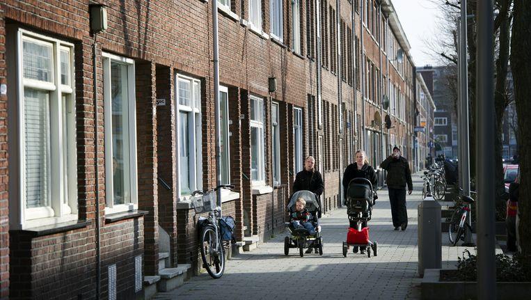 Flakkeesestraat in de Rotterdamse volkswijk Carnisse. Beeld anp