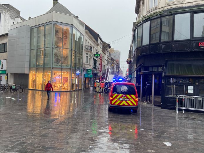Brandmelding Kapellestraat Oostende