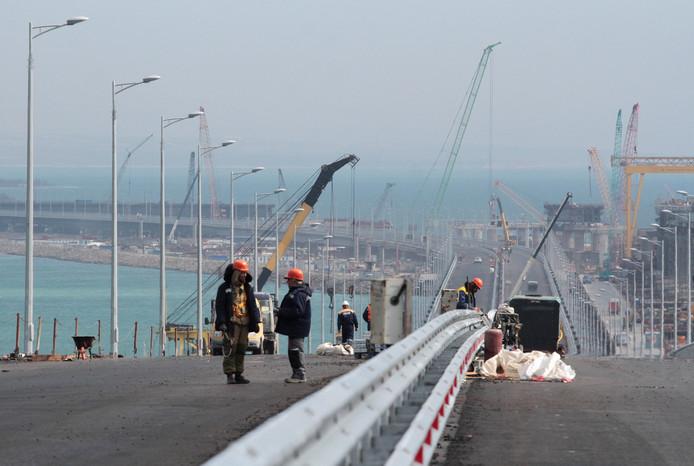 De brug op de Krim