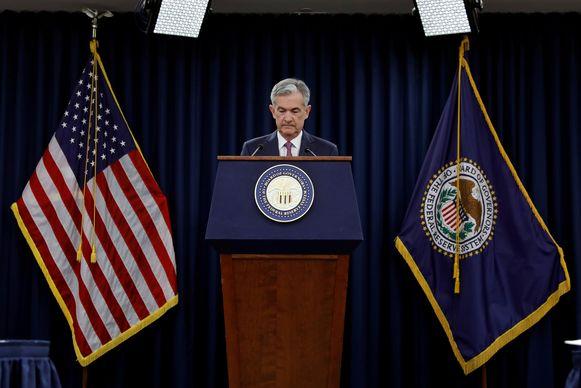 Fed-topman Jerome Powell.