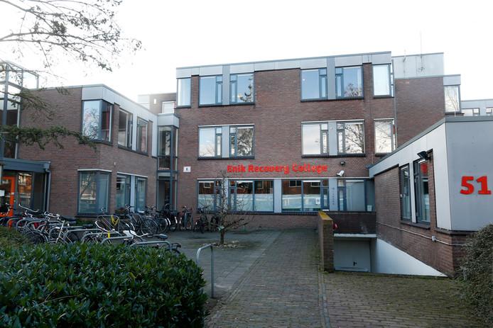 Een van de locaties van Enik Recovery College in Utrecht staat aan de Vaartsche Rijnstraat.