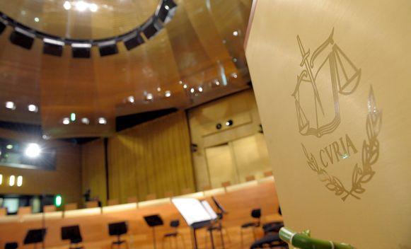 Het Europees Hof van Justitie in Luxemburg.