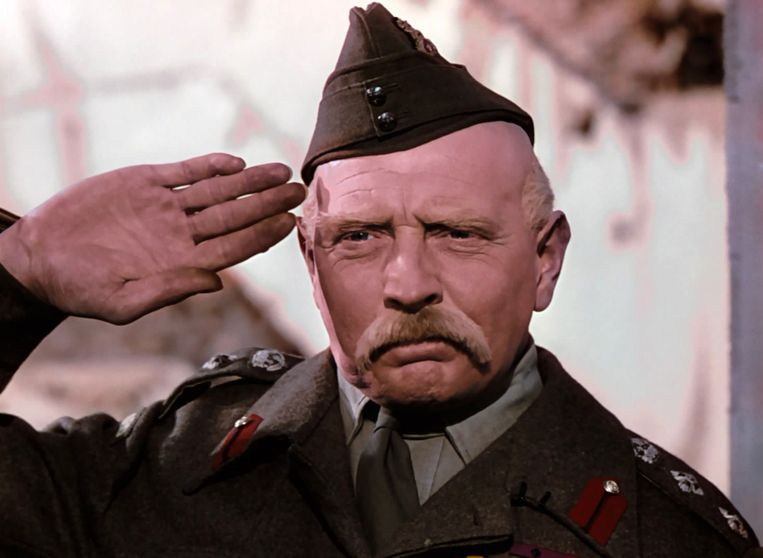 Roger Livesey in The Life and Death of Colonel Blimp (Michael Powell en Emeric Pressburger, 1943). Beeld