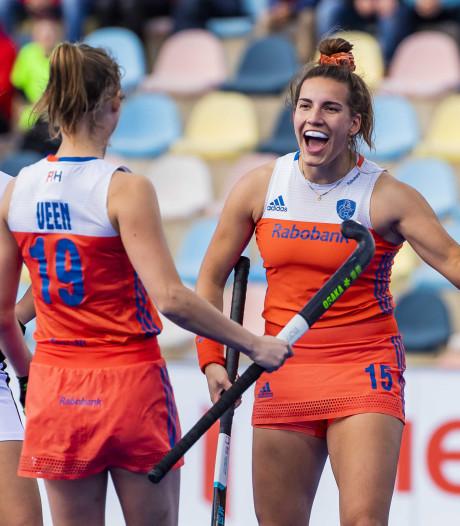 Oranje hockeysters blijven oppermachtig in Pro League