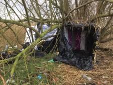 'Seizoen weer geopend': vier Albanezen aangetroffen in tentjes bij station Lage Zwaluwe