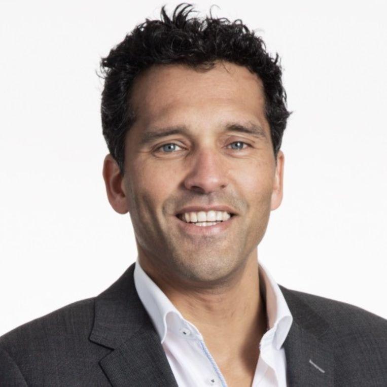 Directeur Frank Beun van databeheerbedrijf EDM. Beeld