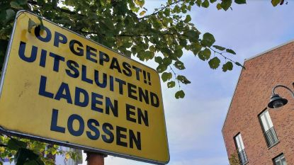 Laad- en loszone is geen parking