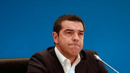 """Premier Tsipras geeft nederlaag in Griekenland toe: """"We moesten moeilijke beslissingen nemen"""""""