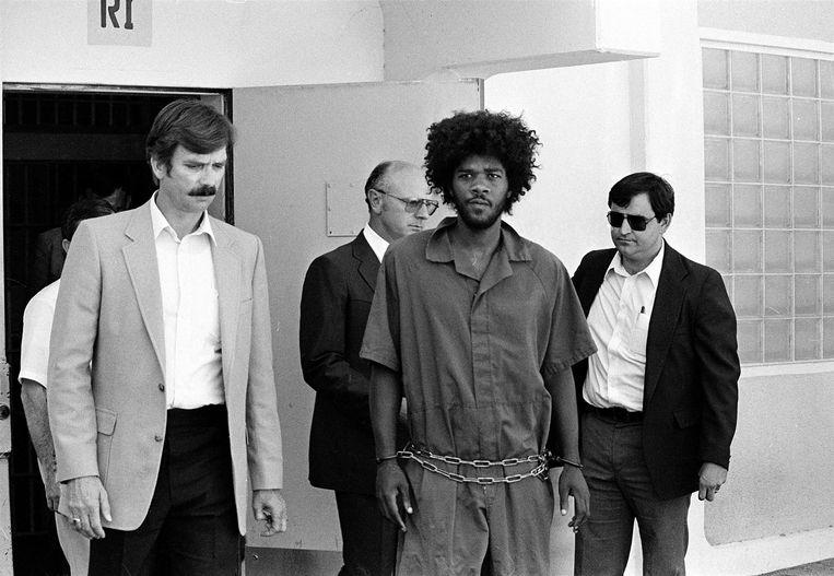 Kevin Cooper après son arrestation en 1983.