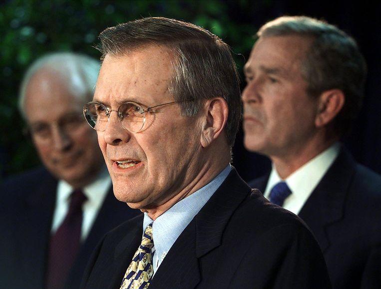Donald Rumsfeld Beeld null