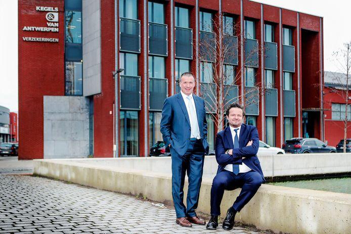 Luc Van Antwerpen, CEO van Kegels & Van Antwerpen en Steve Sartor, managing director van Concordia.