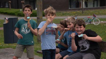 Jeugdgemeenteraad Melle trakteert op ijsjes op Buitenspeeldag