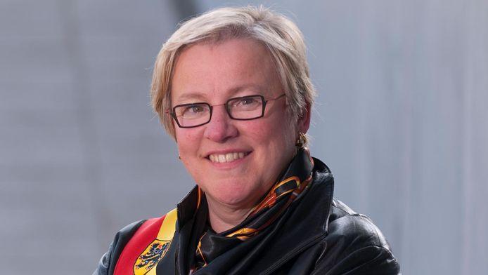 Burgemeester van Zingem Kathleen Hutsebaut.