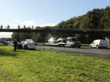 Drie ongevallen tussen Deventer en Hengelo: vertraging op A1 neemt af