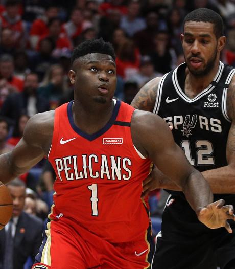 Spetterend NBA-debuut Williamson (19) smaakt naar meer
