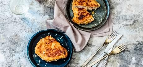Wat Eten We Vandaag: Zelfgemaakte cordon bleu