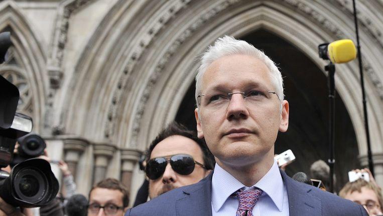 Wikileaks-oprichter Julian Assange Beeld epa
