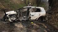 Uitgebrande wagen aangetroffen op veldweg