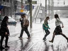 Code geel: Onweersbuien met hagel in Oost-Nederland