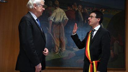 Hans Eyssen legt eed af als burgemeester van Holsbeek