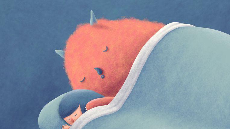 Slaaponderzoekers weten nog altijd niet wat dromen precies zijn, of waarom je eigenlijk droomt. Beeld Matteo Bal