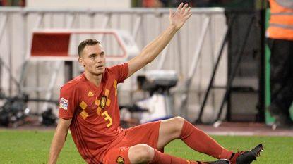 Nieuwe domper voor Vermaelen: verdediger valt geblesseerd uit tegen Zwitserland