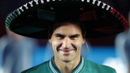 Federer breekt record van Kim Clijsters in Mexico City