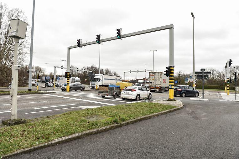 Het kruispunt Mechelsepoort krijgt binnenkort drie fietstunnels.