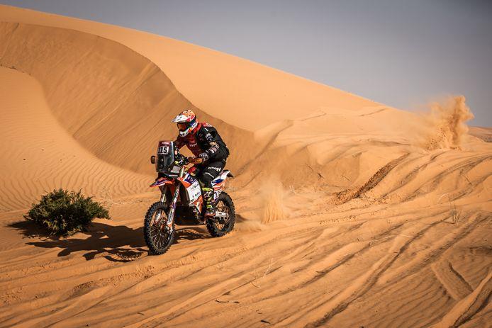 Olaf Harmsen in actie bij de Dakar Rally