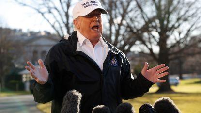 """Trump hint nu toch op noodtoestand om muur te bouwen zonder goedkeuring Congres: """"Zou verrassend zijn als ik dat niet zou doen"""""""
