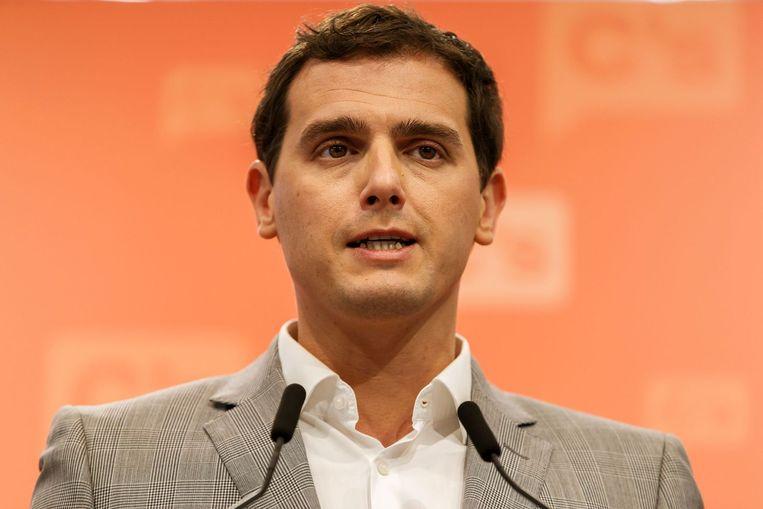 Ciudadanos-leider Albert Rivera. Beeld afp
