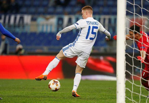 Viktor Tsyhankov is de sterspeler van Dynamo Kiev.
