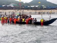 Ramptoestel Myanmar stortte neer door slecht weer