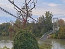 Un pont s'effondre au nord de Toulouse, un camion et une voiture à l'eau